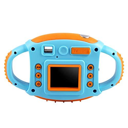 Fotocamera per bambini, Videocamera HD 1,8 pollici 5MP Action Camera Giocattolo carino con la Funzione Selfie per le ragazze dei ragazzi(Blu)