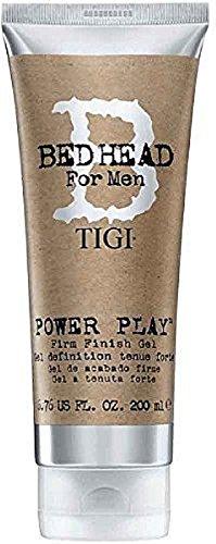 TIGI Bed Head for Men Power Play Gel 6.76 oz (Pack of 6)