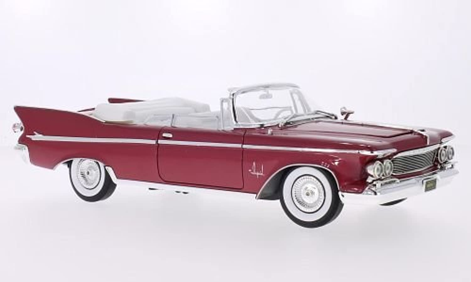 Imperial Crown 2-Door ConGrünible, metallic-rot, 1961, Modellauto, Fertigmodell, Lucky Die Cast 1 18 B01HQAHL9E Treten Sie ein in die Welt der Spielzeuge und finden Sie eine Quelle des Glücks  |  Neuer Markt