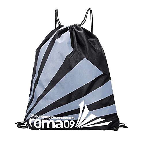 Inception Pro Infinite – Mochila – Bolsa – Bolsa – Deporte – Mochila – Natación – Gimnasia – Gimnasia – Danza – Cordón – Chubasquero – Idea de regalo – Negro y gris