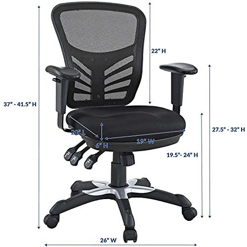 Modway EEI-757-BLK Articulate Office Chair