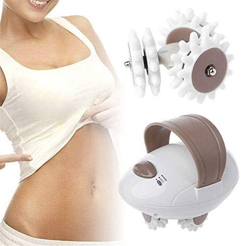 Preisvergleich Produktbild FLYTYSD Handvoll Körpermassager,  3D Roller Mini Fett Zu Verbrennen Massage-Maschine Anti-Cellulite-Maschine Für Gesicht,  Arm,  Hand,  Hals,  Fuß Und Körper,  12 * 10 * 7Cm