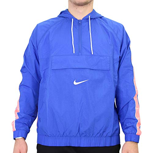 Nike Herren Sportswear Swoosh Jacke Blau XS