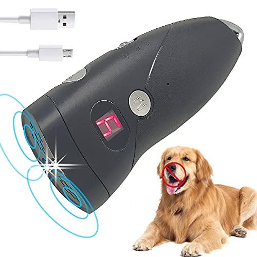 OM Anti-Barking-Gerät für Hunde, Ultraschall-Hundebellen - Sichere und Schmerzfreie Hunderkontrolle für den Innen- und Außenbereich, 9 Arbeitsmodi, Ultraschall mit unterschiedlichen Frequenzen