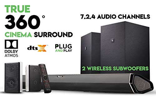 Our #2 Pick is the Nakamichi Shockwafe Elite Home Theater System