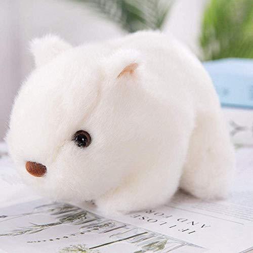 DINGX 18-25cm Hamster Doll Juguetes de peluche suave de peluche Animal Decoración del hogar Appease Kid Boy Girl Regalo de cumpleaños Wj582-25Cm_1_Cn chuangze