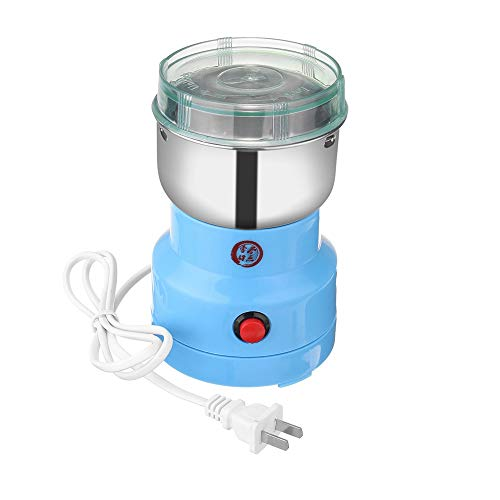 GREHED Best Coffee Grinder,with Stainless Steel Blade for Coffee Beans Spices Nuts Seeds (Cleaning Brush Included)