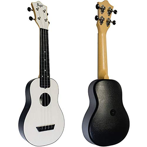 Ukelele Soprano Flight TUS-35WH Travel Blanco