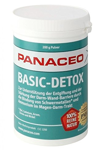 Panaceo | Basic-Detox | Zeolith Pulver 200g | Geschmacksneutral