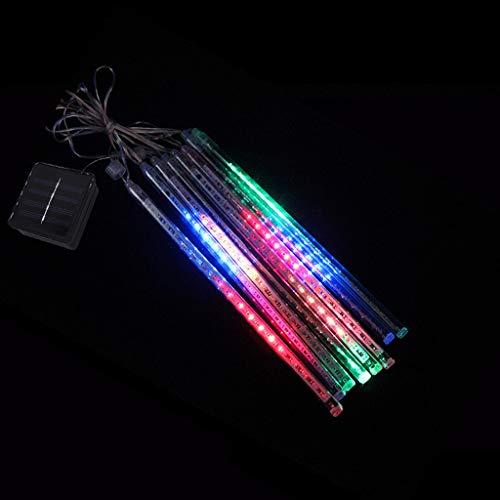 Solar Meteor Shower Light String LED Holiday Light Outdoor Decorative Light Kitchen Dining Bar Accessories