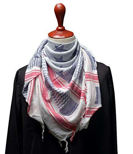 Outdoor Hiking Shemagh Military Tactical Desert Keffiyeh Cotton Light Weight Protective Fashion Head Face And Neck Scarf