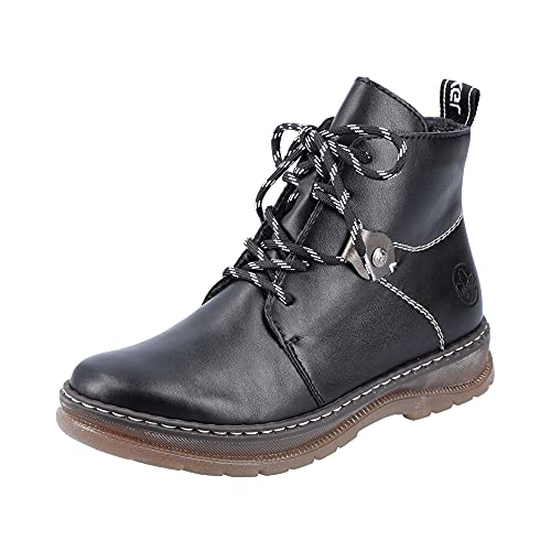 Rieker Damen Z2013 Mode-Stiefel, schwarz, 38 EU