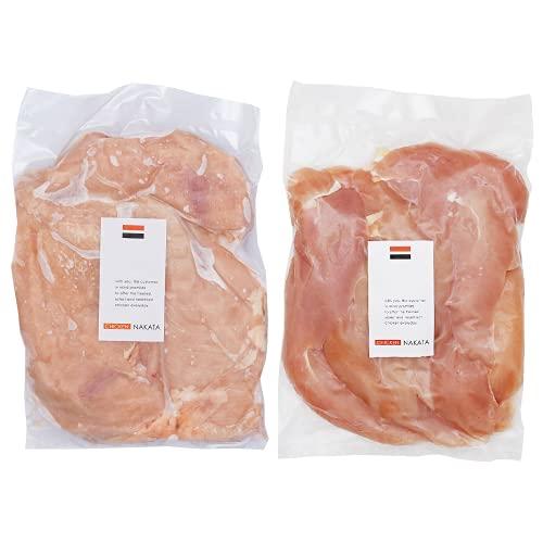 国産 和歌山県産 鶏肉 紀の国みかんどり (むね肉&ささみ) 2kgセット 鶏モモ肉 鶏ササミ 各1kg【冷凍】産地直送 鳥肉