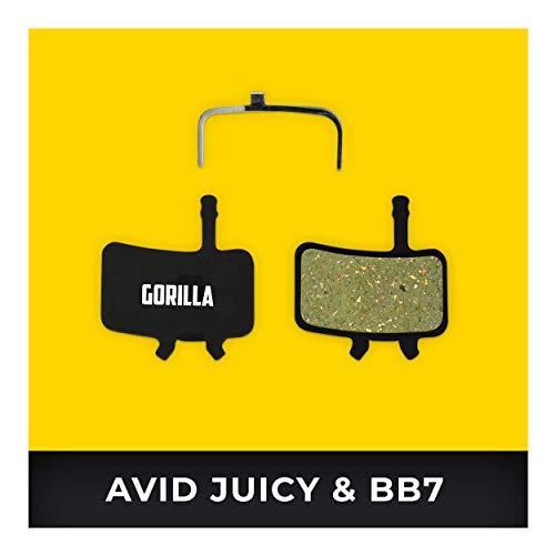 Avid Juicy Remblokken 3 5 7 Carbon Ultimate & Avid BB7 voor Fiets Schijfrem I Organisch & Gesinterd I Hoge Remprestaties I Duurzaam & Perfecte Pasvorm Remblok