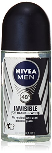 Nivea Men Desodorante Invisible, No Residui Blancos, 50 ml