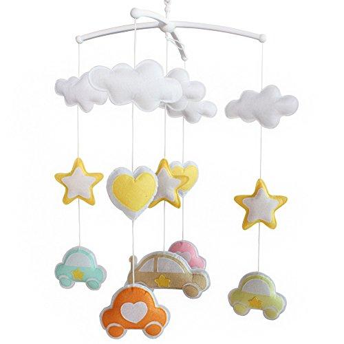 Berceau de lit de bébé rotatif coloré jouets de bébé [Voitures en rêve]