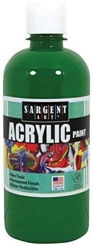 Sargent Art 24-2466 16-Ounce Acrylic Paint, Green