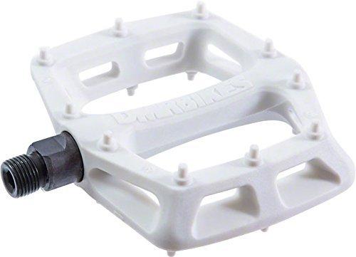 DMR V6 Pedals, 9/16' Plastic Platform White by DMR