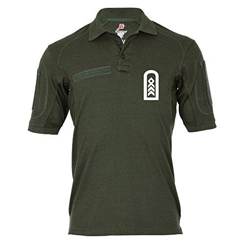 Copytec Tactical Poloshirt Alfa - OStFw Oberstabsfeldwebel BW Dienstgrad OSF Oberstaber Spieß #18957, Größe:5XL, Farbe:Oliv