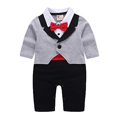 Qiribati Sommeil & Play Outfit Set Cravat Pyjama Unisexe Salopette Baby Shower De Bébé