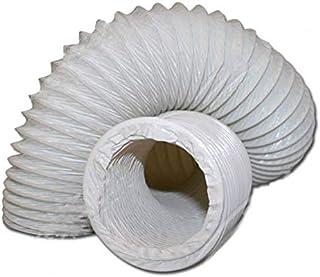 DL-pro Tuyau d'évacuation d'air - Diamètre : 100 / 102 mm - En PVC - Pour climatisation de 100 - Sèche-linge - 15 m