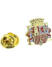 Pin de solapa del Escudo de la II República Española | Pines Originales Para Regalar | Para las Camisas, la Ropa o para tu Mochila | Detalles Divertidos