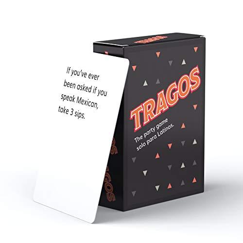 Tragos Game for Latinos - Relatable Funny Card Game for Adults - Juegos De Mesa para Adultos