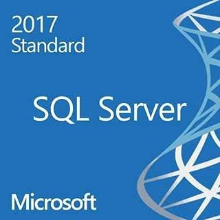 SQL Server 2017 Standard [PC Download]
