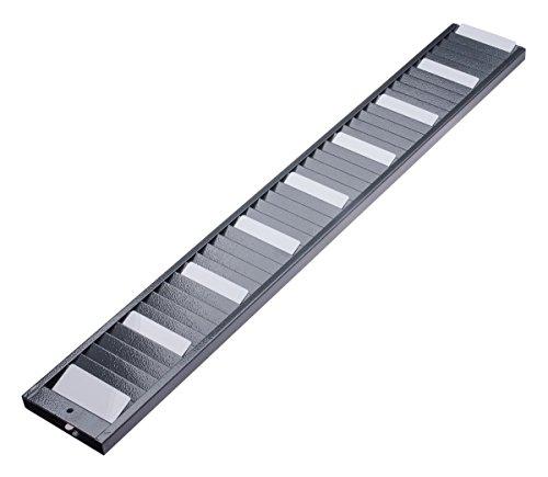 Kartenhalter/Wandhalter für bis zu 40 Chipkarten (815 x 115 mm)