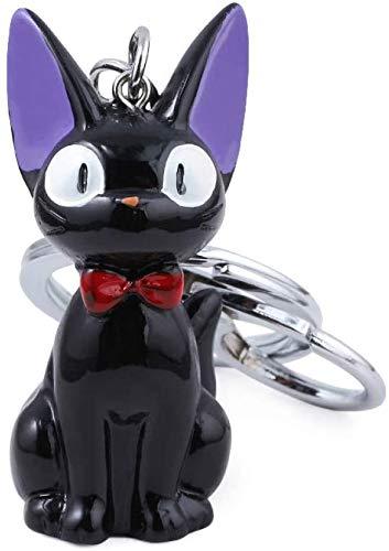 Schlüsselbund Nette Hexe Katze Jiji Figuren Schlüsselring Mein Nachbar Totoro Schlüsselanhänger Kinder Geschenk