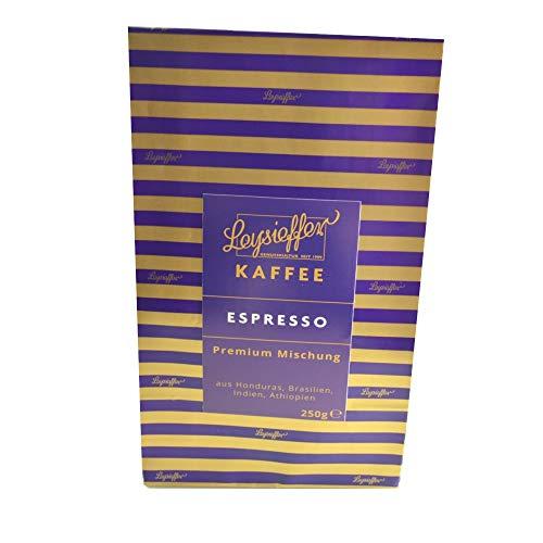 Leysieffer - Kaffee Espresso - ganze Bohne