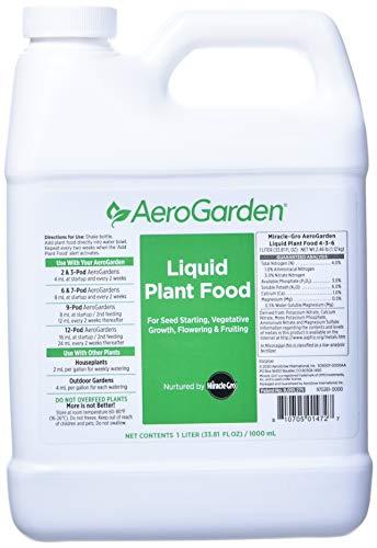 AeroGarden Liquid Nutrients (1 Liter)