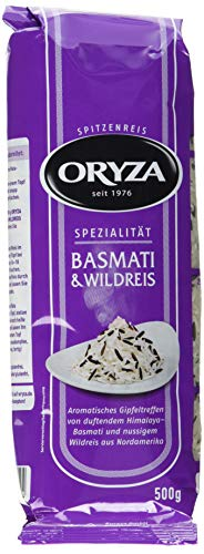 Oryza Basmati&Wildreis (1 x 500 g Packung)