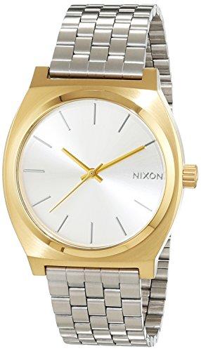 Nixon Damen-Armbanduhr Time Teller Gold/Silver Analog Quarz Edelstahl A0452062-00