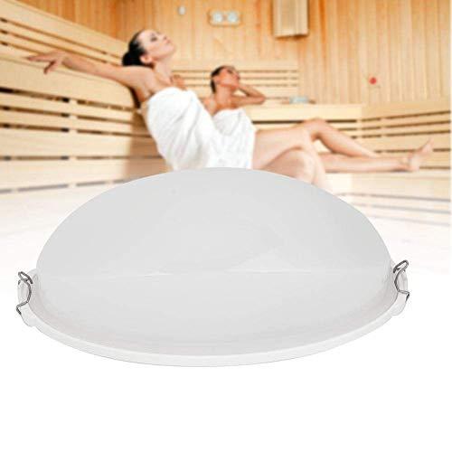 Duokon Saunabeleuchtung, Sauna Explosionsgeschützte Lichtlampe Dampfbad Anti-Fog-Licht für Badezimmerleuchten, Saunen