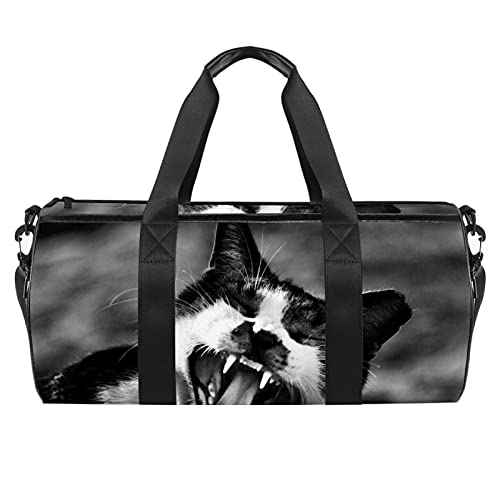 Bolsa de gimnasio para mascotas con bolsillo impermeable para hombres y mujeres, para fines de semana