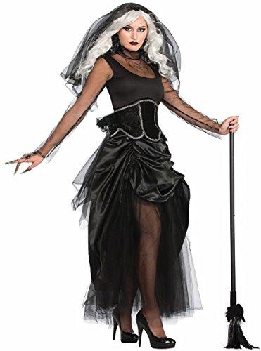 Bristol Novelty Forum Novelties X76248 Femelle Shadow Ghost Costume (Taille 10–42)