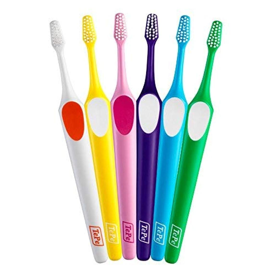 遺棄された啓示吐き出すTePe テペ 歯ブラシ スプリーム コンパクト 20本入