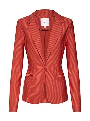 ICHI Damen Ihruti Bl Anzugjacke, Rot (Picante 12065), 38 (Herstellergröße:M)