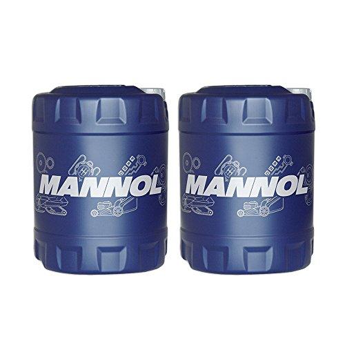 MANNOL 2 x 10L ATF Dexron II Automatic/Automatikgetriebe- Servo- Öl Rot