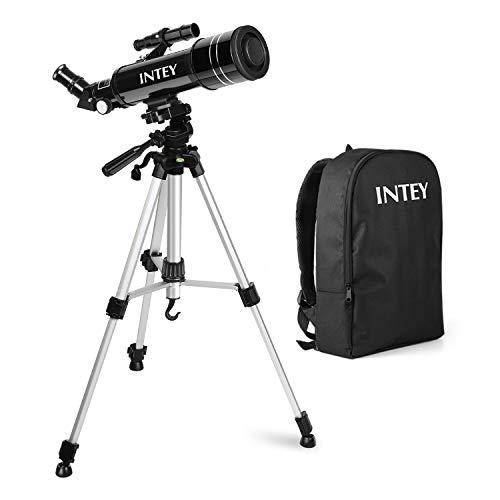 Telescopio Astronómico INTEY – 70 X 400 MMTelescopio Niños, Lente