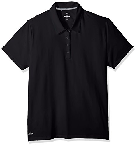adidas Golf Ultimate 365 Damen Poloshirt, kurzärmelig XL Schwarz