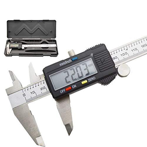 FTHKK 0-150mm Messwerkzeug Edelstahl Messschieber Digital Messschieber Mikrometer