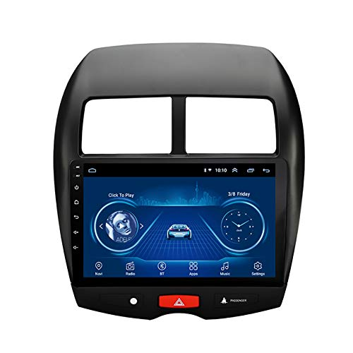 WY-CAR Android 8.1 en el Tablero. Reproductor de MP5 para Auto estéreo de 10.1 Pulgadas para Mitsubishi ASX (2013-2015), Pantalla táctil capacitiva con GPS, WiFi, Bluetooth, Enlace de Espejo