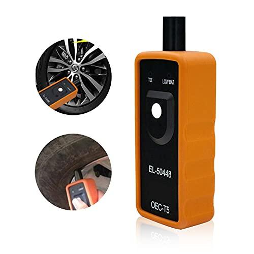 otutun Herramienta de activación, Monitor de presión de neumáticos de Coche TPMS,Resetar Activar Sensor de Presión de Neumáticos TPMS OEC-T5, Sistema de Control de Presión de Neumáticos