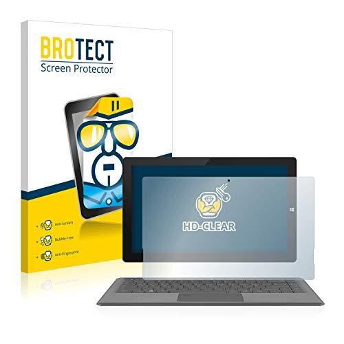 BROTECT Schutzfolie kompatibel mit TrekStor Primetab T13B klare Bildschirmschutz-Folie