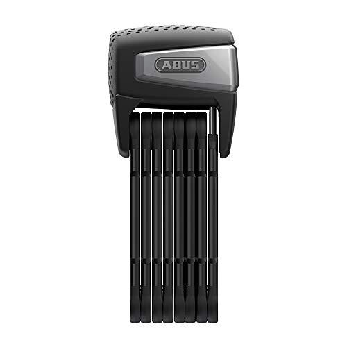 ABUS Faltschloss Bordo 6500A SmartX - Smartes Fahrradschloss mit Bluetooth und Alarm - Smartphone iOS & Android - inkl. Halter - ABUS-Sicherheitslevel 15 - 110 cm