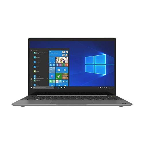 TREKSTOR PRIMEBOOK U13B-PO, Ultrabook (13,3 Zoll Full-HD IPS Touch Display, Intel Pentium N5000, 4 GB RAM, 64 GB Speicher, Fingerprintsensor, Windows 10, inkl. Office 365) dunkelgrau