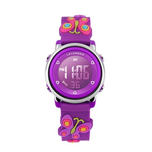 Digital Uhren für Kinder Mädchen-Wasserdicht Sport Outdoor Silikon Armbanduhr-Alarm/Stoppuhr/Datum