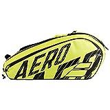 Babolat RH X 12 Pure Aero Schwarz/Gelb Raquetero Negro - Amarillo